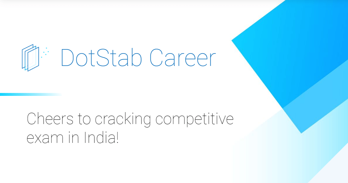 Dotstab Career